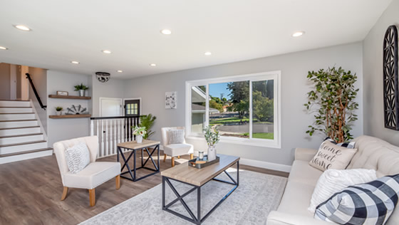 Living space designed by Douglasville Home Improvement